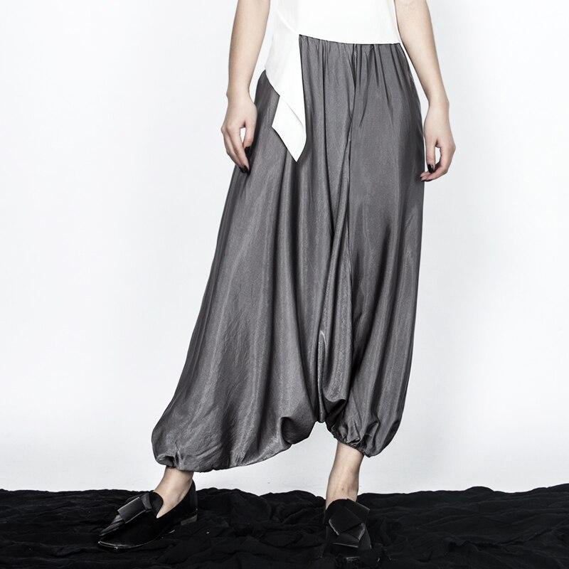 Salvaje Las De grey Europa Superaen Nuevas Elástica Black Moda Los Casual Pantalones Y Sólido Verano 2019 Primavera Color Mujeres Cintura d1qXPxF