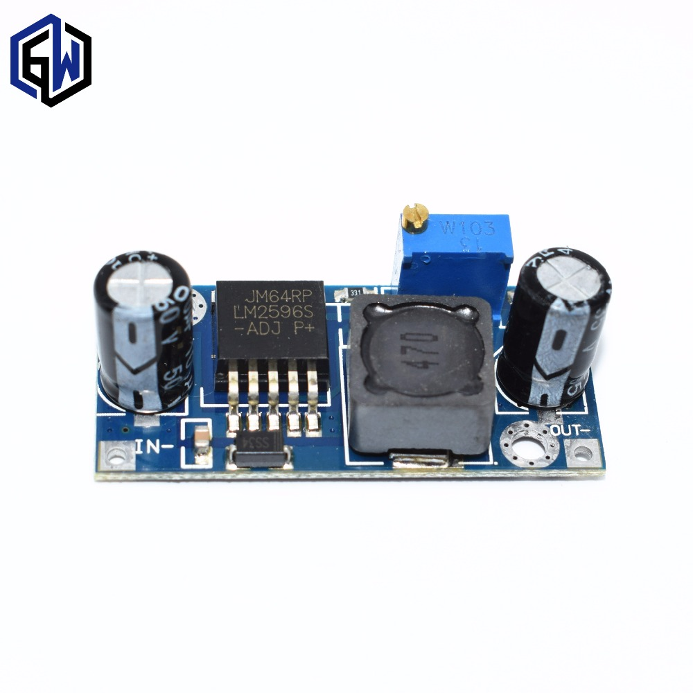 20pcs Lm2596 Power Supply Module Dc Step Down 5v 12v 24v Loss Comparison With The Linear Regulator Adjustable Voltage 3a