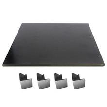 JGAURORA 3D-принтеры черный алмаз стекло без подогревом для A3S A5S 3D-принтеры