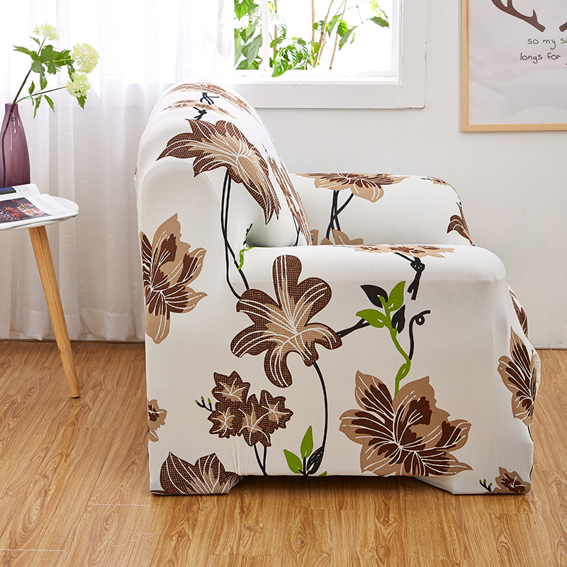 ROMORUS Floral Sofa Covers Tight All-inclusive Universal Stretch - Home Textile - Photo 4