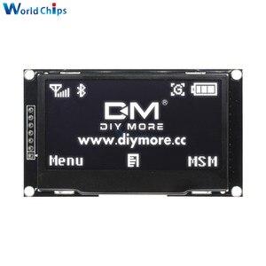 "Image 3 - Diymore Weiß 2.42 ""2,42 inch LCD Screen 128x64 OLED Display Modul IIC I2C SPI Serielle 12864 OLED display für C51 STM32 SPD0301"