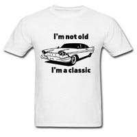 2015 Summer Style Hot Sale Car Logo Men T Shirt Unique Custom Plain Tshirt Printed Graphic