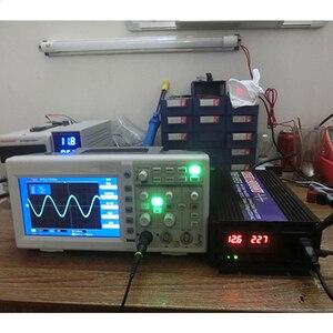Image 4 - Автомобильный инвертор 4000 Вт, 2000 Вт, от 12 В до В переменного тока, немодулированный синусоидальный сигнал, автомобильный конвертер напряжения для дома, автомобильные аксессуары