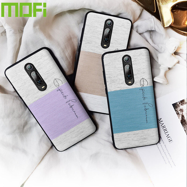 MOFi Redmi K20 Pro Luxury Cotton Cloth Shockproof Back Case Cover