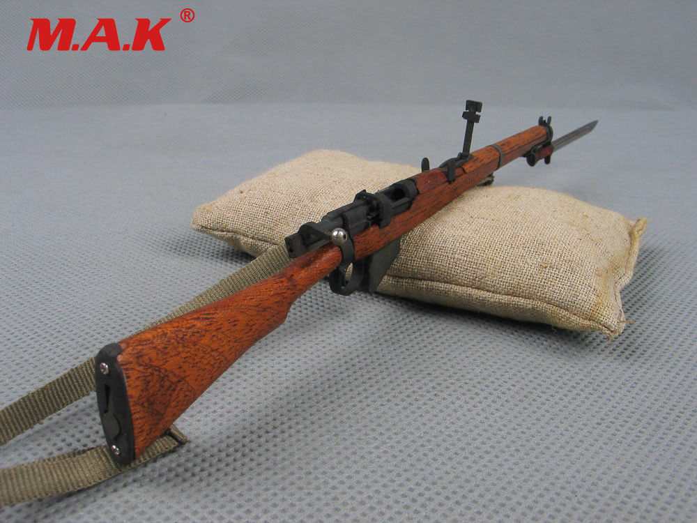 US $35 46 8% OFF|1/6 scale soldier story WWII British army Lee Enfield  rifle metal gun weapon model toys fit for 12
