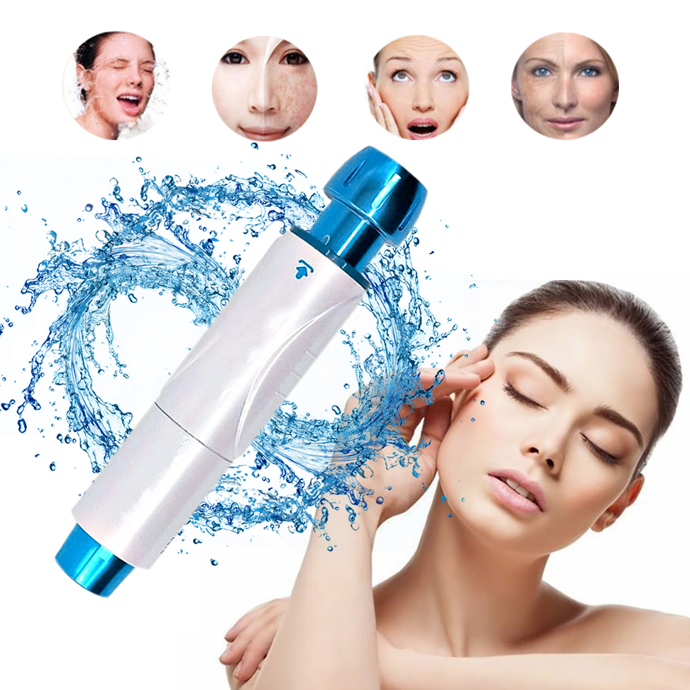 Needless Atomizing Pressurizer Micro Injection Pen Nebulizer Skin Rejuvenation Skin Moisturizing Wrinkle Removal Device