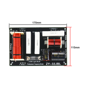 Image 5 - GHXAMP 450 ワットスピーカークロスオーバー 1.8 Khz ツイーター低音 2 方法分周器 4 8Ohm 双方向ステージスピーカー専用周波数分周器 1 ピース