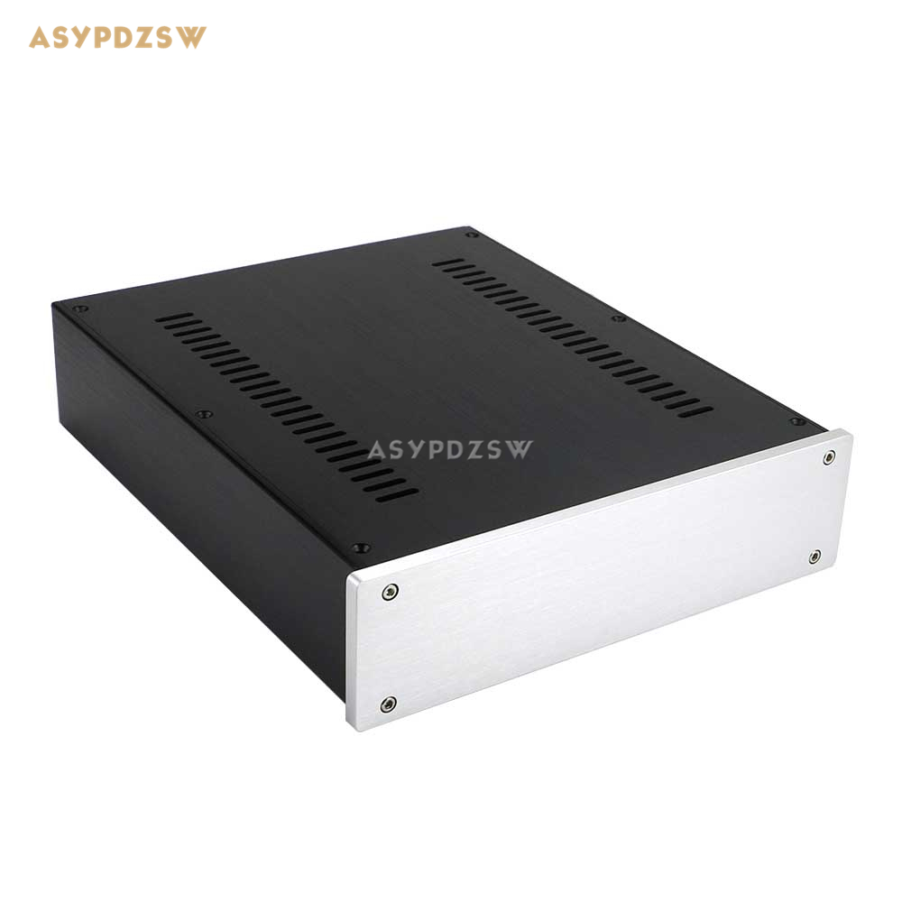 2607 Full aluminum power amplifier enclosure Preamplifier chassis DAC Decoder case/box 260*70*311mm стоимость