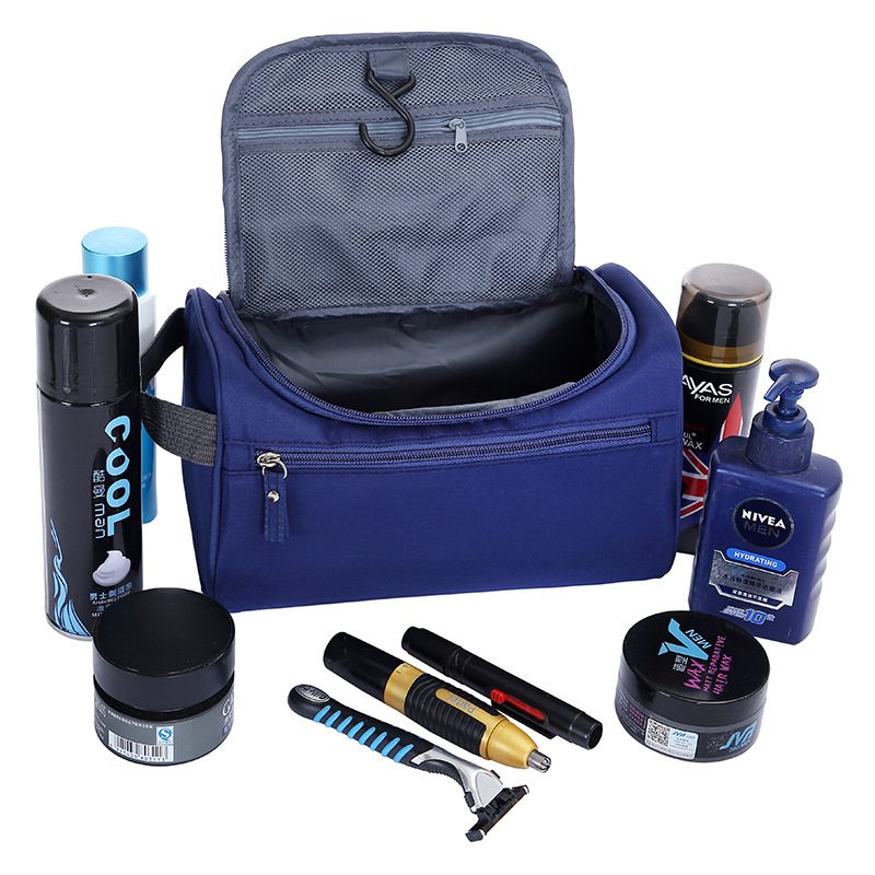 Men Women Wash Cosmetic Bag Travel Makeup Bag Necessarie Zipper Suitcase For Cosmetics Toiletry Bag