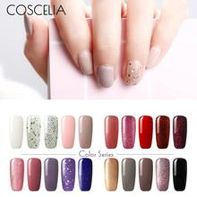COSCELIA 6/20 pcs 8ml Gel Nail Polish Set Nails Manicure Tools UV Gel Polish Colors All for Varnish DIY Nail Art Tools Kit Salon high quali 36 colors set nail painting gel uv gel kit nail art salon paint lacquer set beauty tools for nail art tool
