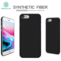NILLKIN Synthetic Fiber Phone Cases For IPhone 8 Case Luxury Slim Soft Silicone Case For IPhone