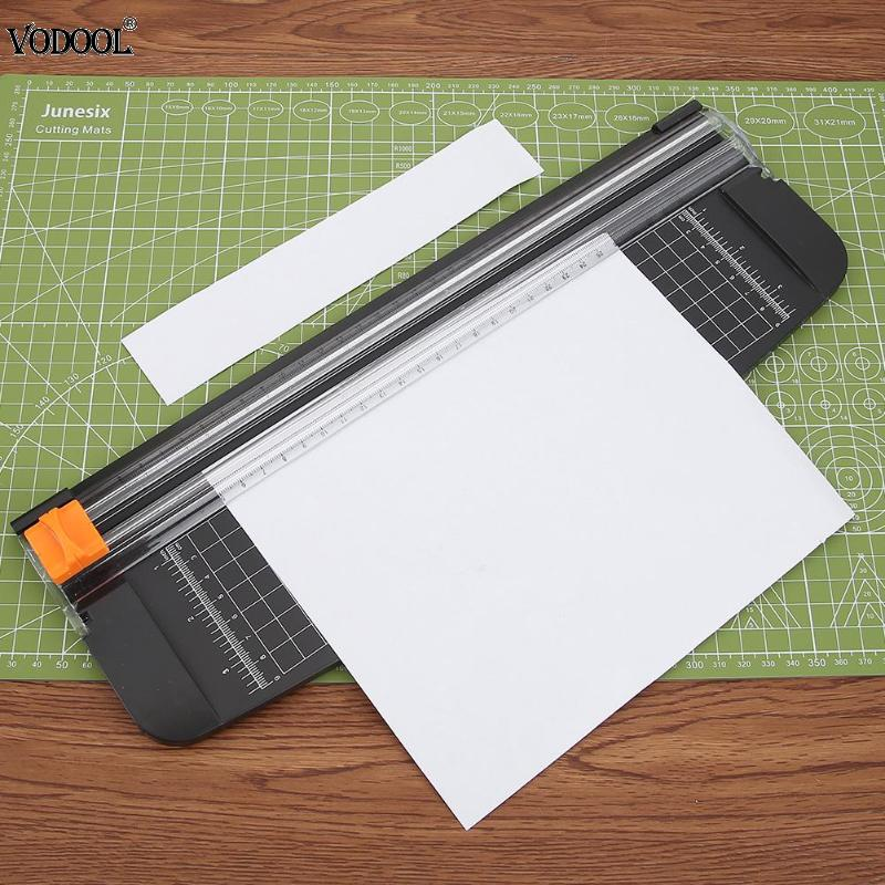 Portable Mini A4 Precision Paper Photo Trimmers Cutter for DIY Scrapbook Trimmer Lightweight Cutting Mat Machine Tools 2018 New kicute convenient portable a4 a3 precision photo paper cutter trimmer guillotine scrapbook multifunctional fold cutting machine