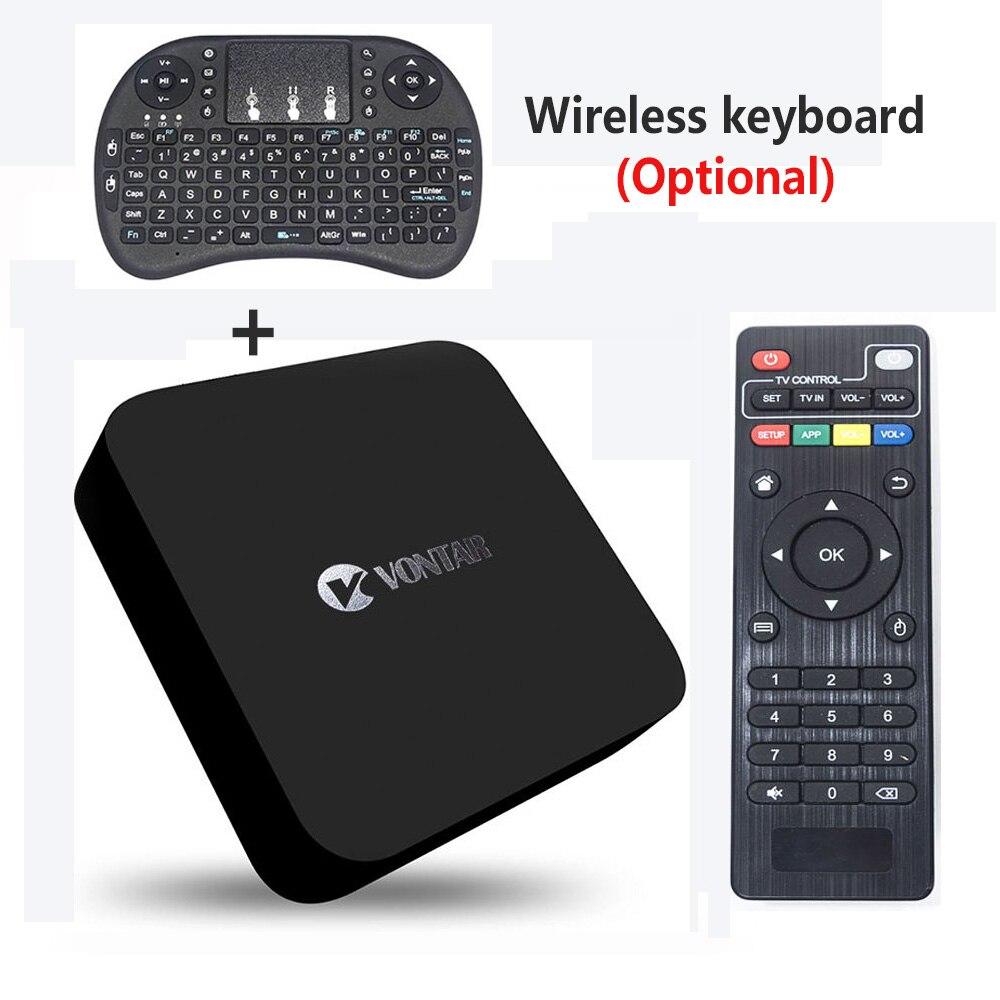 Genuine] VONTAR MX 4K RK3229 Quad Core Android 5 1 TV Box mx 4k 1GB