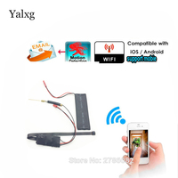 Yalxg New Wifi HD 1080P Wireless Snake Mini CCTV Camera Record Audio Video Support IOS Android