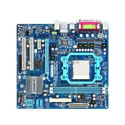 Oryginał dla Gigabyte GA M68M S2 płyta główna DDR2 gniazdo AM2 AM3 M68M S2 pulpit płyta główna Micro ATX VGA w Płyty główne od Komputer i biuro na