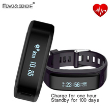 EDWO XR01 Умный Браслет Часы Bluetooth 4.0 Браслет Монитор Сердечного ритма Артериального Давления Здоровье Браслет Фитнес-Трекер Smartband