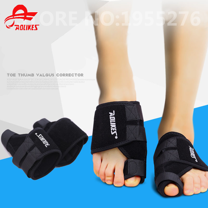 Aolikes 1Pcs Hallux Valgus Pro Toe Correction Thumb Tape Physical Pain Relief Big Bone Toe Corrector Magnetic Belt