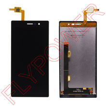 For DOOGEE Turbo 2 DG900 LCD Screen Display with touch screen digitizer assembly by free shipping; Black; 100% warranty