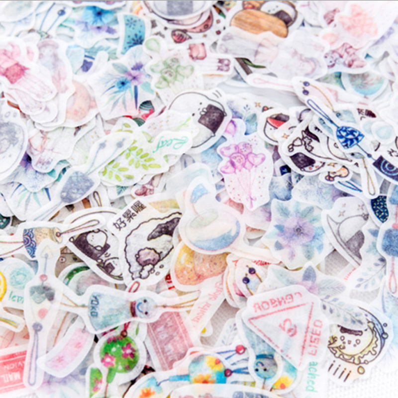 40-pcs-lot-refreshing-flower-mini-paper-sticker-decoration-stickers-diy-ablum-diary-scrapbooking-label-sticker-kawaii-stationery