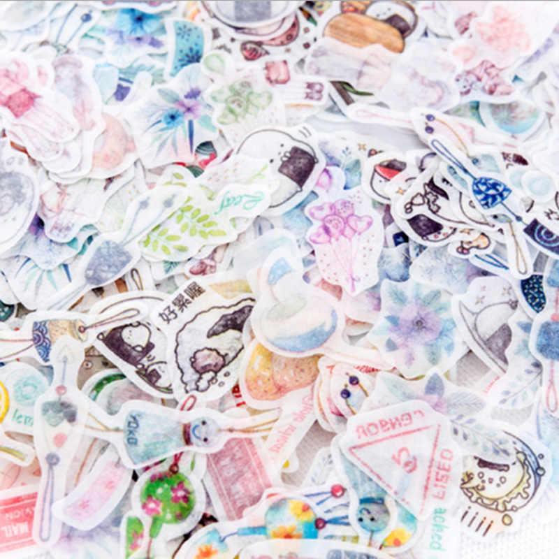 40 pz/lotto rinfrescante fiore mini adesivo di carta adesivi decorazione FAI DA TE ablum diario scrapbooking etichetta adesiva di kawaii di cancelleria