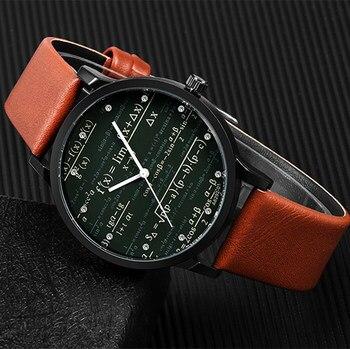 b43bdb697753 Reloj de cuarzo de Venta caliente nuevo diseño de marca miler relojes de  moda de hombre clásico de cuero breve reloj de longitud de aguja relojes  masculinos