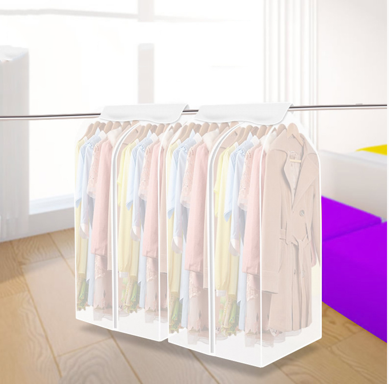 Clothing dust bag for Storing Clothes Garment Suit Coat Dust Cover Protector Wardrobe Storage Bag Case for Clothes 460632