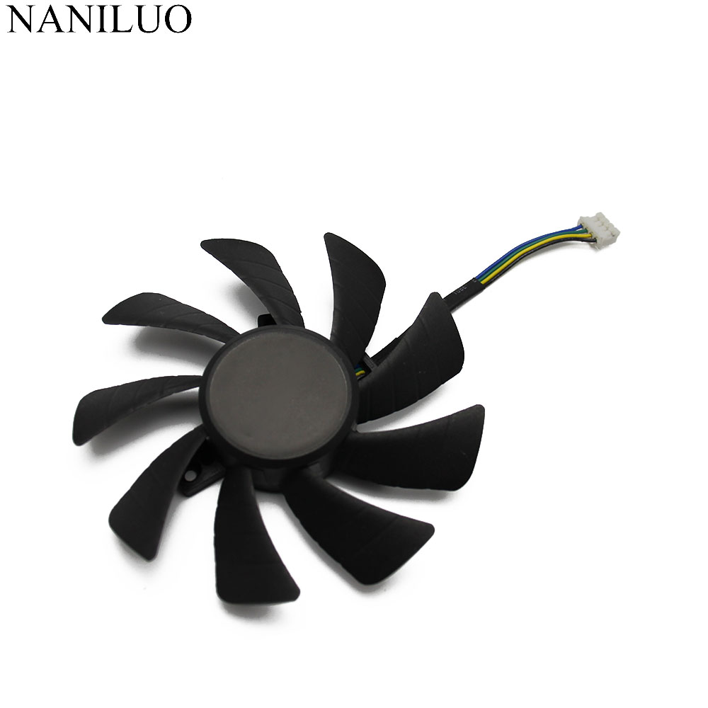 New 85mm T129215SH DC 12V 4Pin 0.30A Cooler Fan Replacement For ZOTAC GTX1060 GTX 1060 MINI 3G Graphics Video Card Cooling Fans image