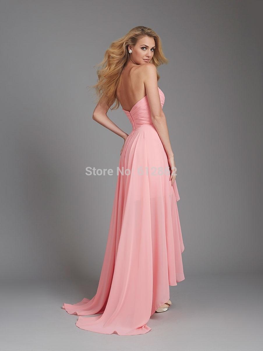 Excepcional La Dama De Honor Vestido De Color Marrón Modelo ...