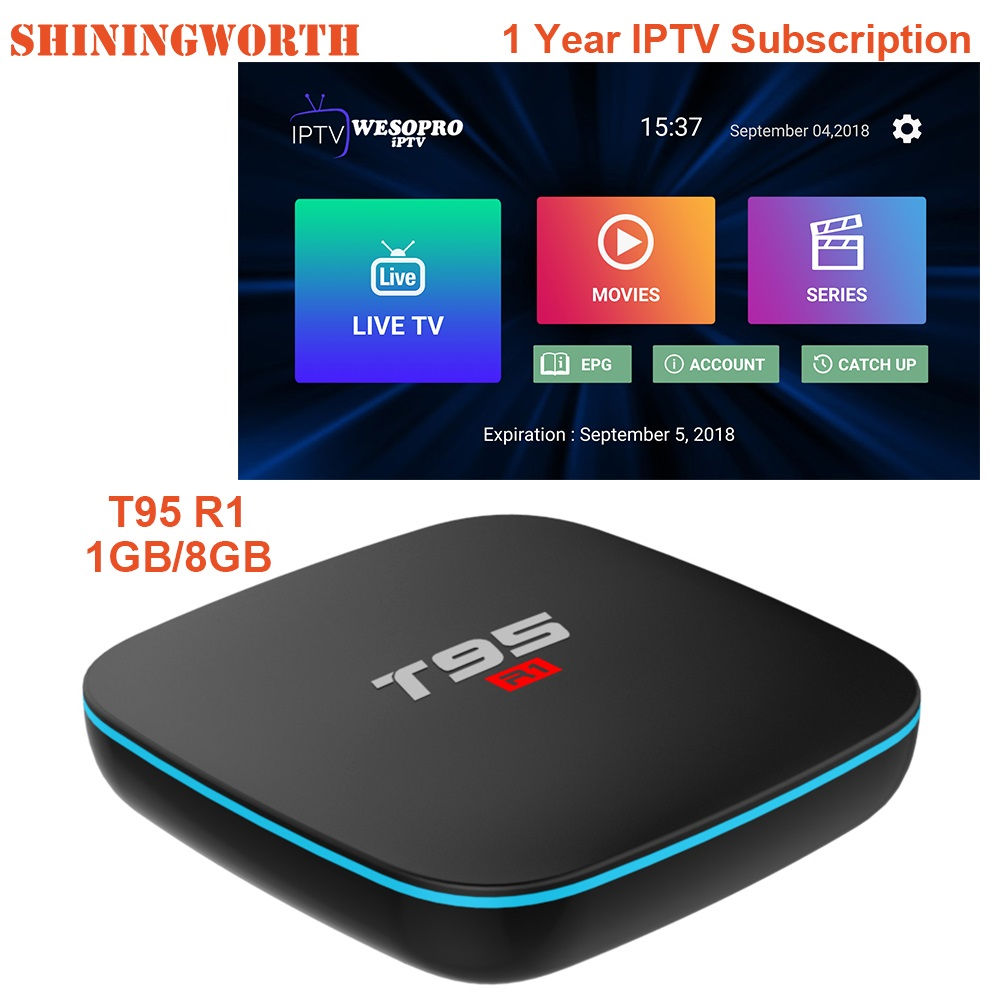 Aliexpress.com : Buy T95 R1 IPTV Subscription For Italy