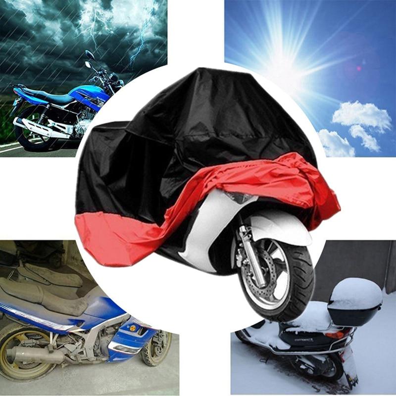 Nachdenklich Motorrad Abdeckung Motorrad Roller Regen Wasserdichte Uv Staub Protector Für Honda Motorrad Harley Motorrad Regen Motorrad Abdeckung