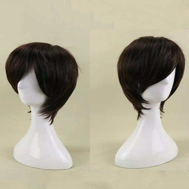HAIRJOY Synthetic Hair Wigs Short Straight Cosplay Wig  13 Colors Available Freeshipping 41