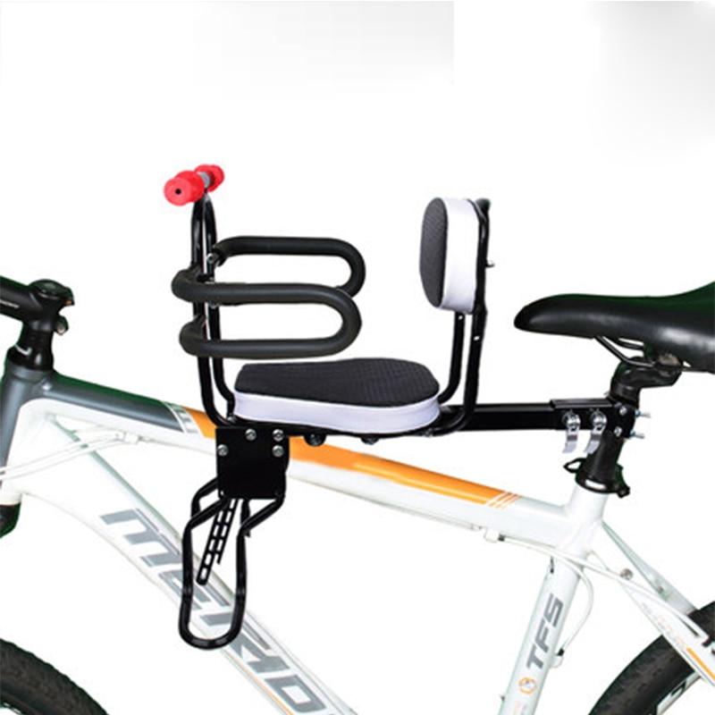 AOXIN Mountain Bike Road Bike Folding Bike Women's Bike Front Children's Safety Chair High quality steel pipe front seat mat lauxjack mountain bike steel itself 24