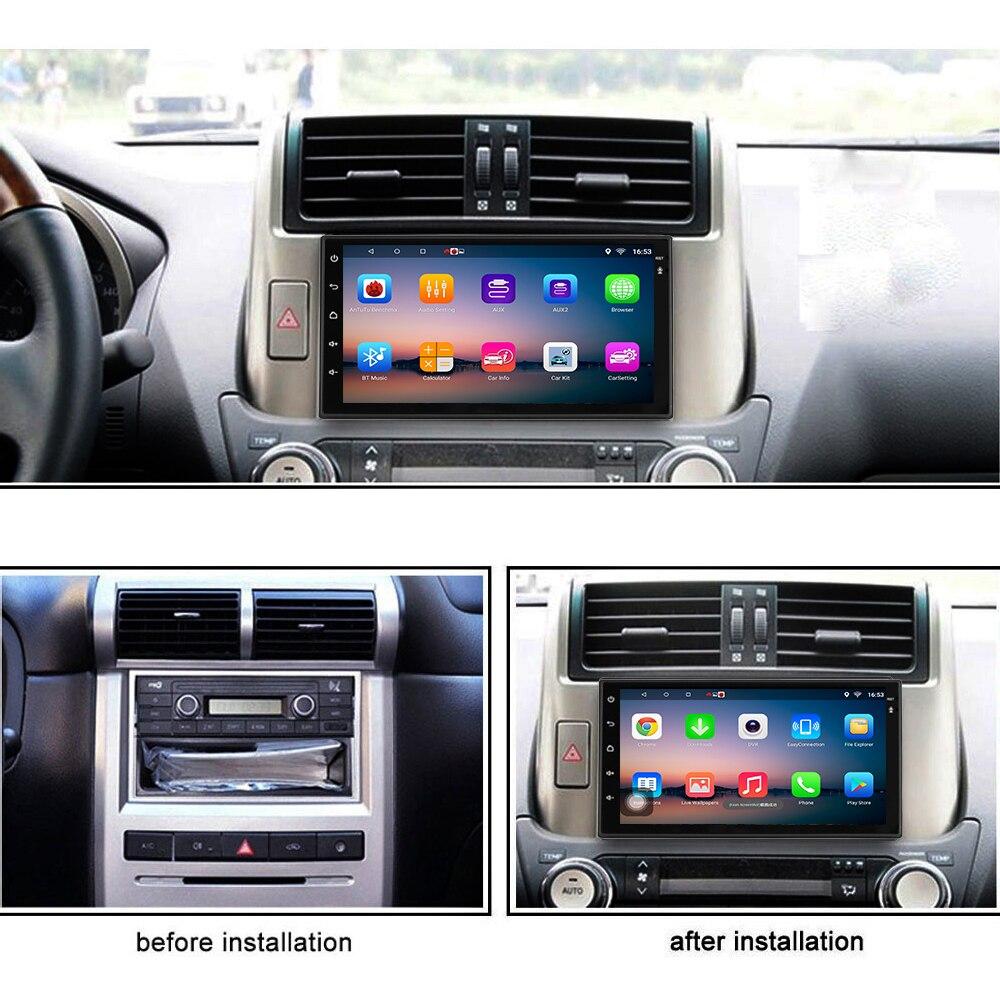 Panlelo S10/S10 Plus 2 Din Android 8 unité de tête voiture stéréo GPS Navigation Radio de commande au volant (AM/FM) 1G/2G RAM 16G/32G - 5