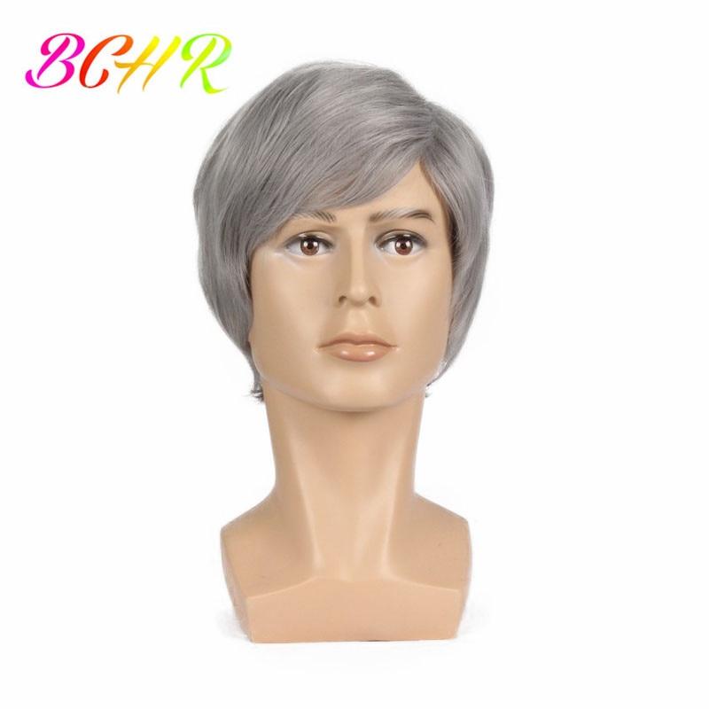 BCHR 6 ιντσών Short Striaght Πλήρης συνθετική - Συνθετικά μαλλιά - Φωτογραφία 2