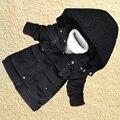 2016 nuevos niños de la chaqueta de invierno para niños de lana gruesa caliente niños parkas abrigo casaco inverno menino PT101-1