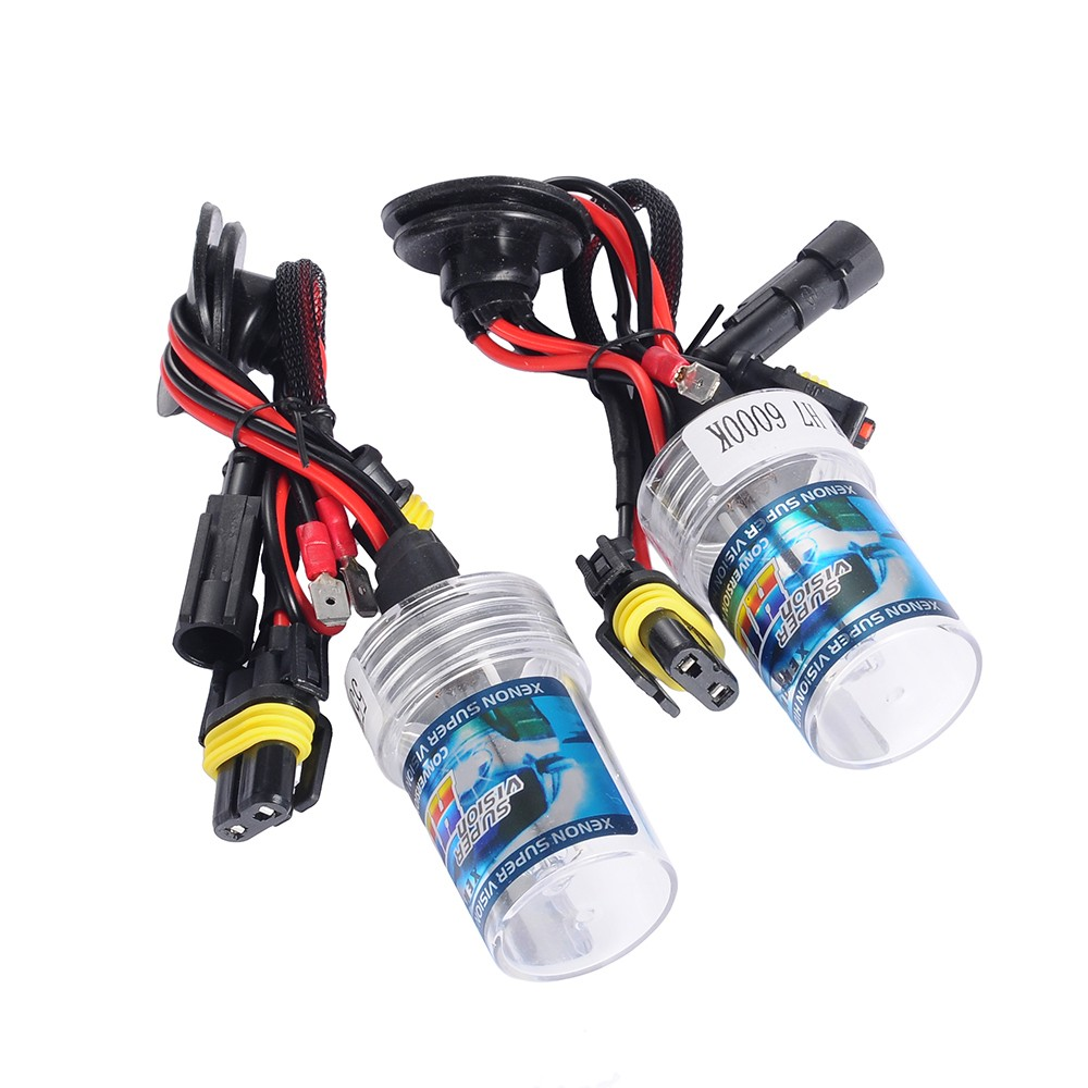 Xenon HID Kit Car Headlight Slim Ballast 55W H7 Xenon Bulb 3000K 4300K 6000K 8000K 10000K 12000K 12V Car Parts Accessories 55w silver hid xenon kit slim ballast 880 4300k replacement headlight new [cpa248]