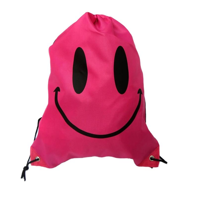 sorriso rosto bolsa de cordão Material Principal : Poliéster