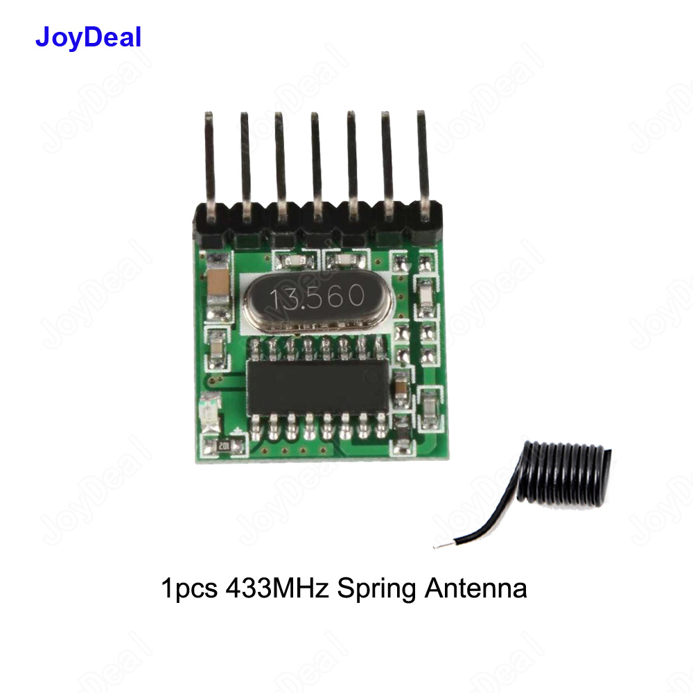 433mhz Dc5v Rf Relay Superheterodyne Wireless Remote Control Simple Circuit Without Microcontroller Electronic Transmitter Learning Code Decoder Module 433 Mhz 4 Ch Output Diy Kit For