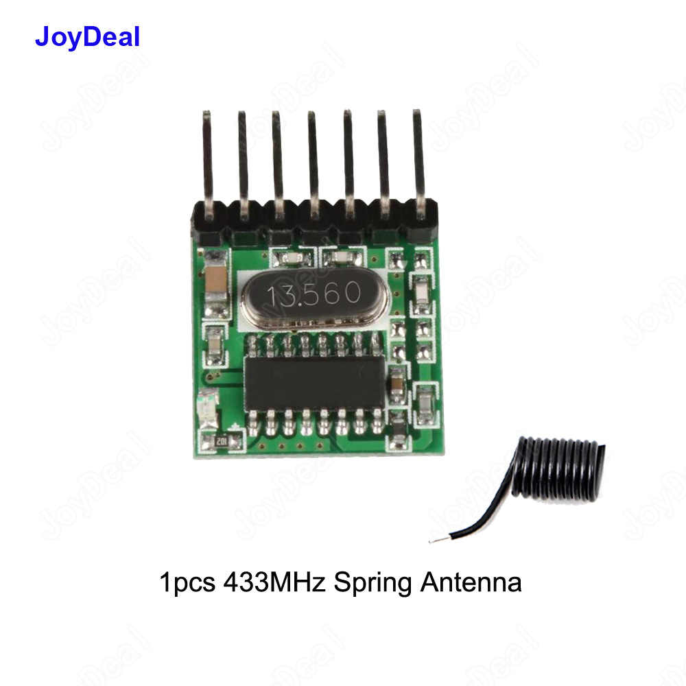 Detail Feedback Questions About 433mhz Dc5v Rf Relay Superheterodyne Simple Remote Control Circuit Without Microcontroller Homemade Transmitter Learning Code Decoder Module 433 Mhz Wireless 4 Ch Output Diy Kit For