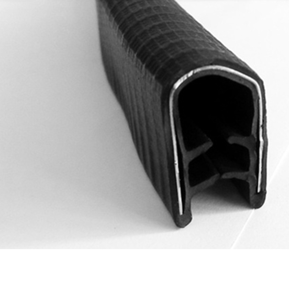 4 meters car door window Rubber seal for collision protection Card slot sealing strip