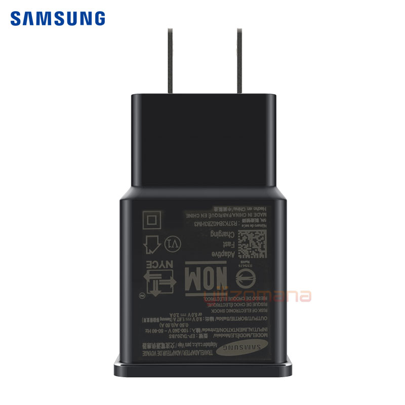 Samsung S8 S9 plus note9 Original Fast Charger 9V1 67A Quick Adapter EU US Note8 S9 S8 C5 C7 C9 pro 1 2 1 5M USB Type C Cable in Mobile Phone Chargers from Cellphones Telecommunications
