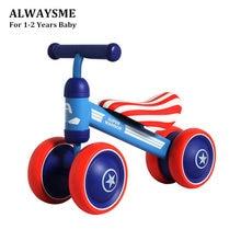 ALWAYSME, triciclo para bebé, niño pequeño, nuevo Andador de primera bicicleta para bebé, niños de 10 meses a 24 meses, interior y exterior