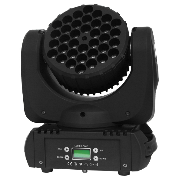 10pcs/lot Led mini moving head 36pcs*3W rgbw beam move head dmx wash stage lighting for dj disco party light effect wedding ...