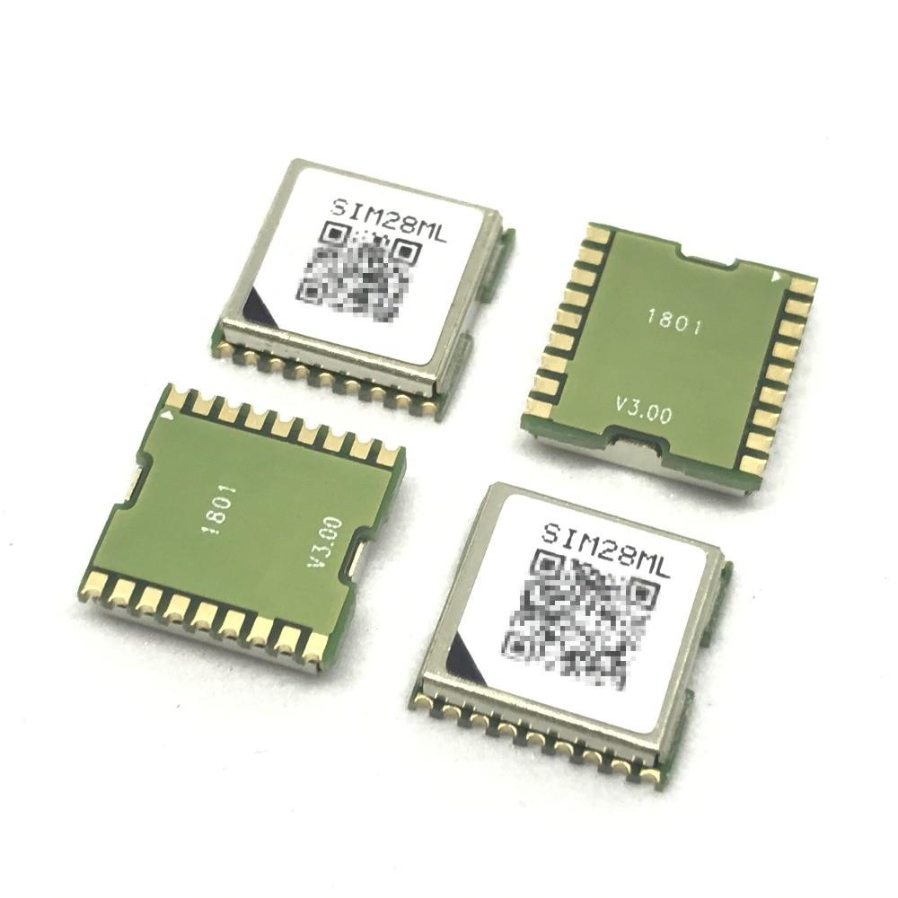 Free Shipping 10PCS LOT SIMCOM SIM28ML GPS Module SBAS ranging 100 New original Genuine Distributor JINYUSHI