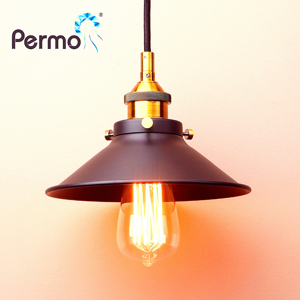 PERMO NEW Copper Pendant Lights American Country Pendant Ceiling Lamps Modern Hanglamp Luminaire Lights Fixture permo vintage rope pendant lights loft industrial pendant ceiling lamps modern hanglamp luminaire lights fixture