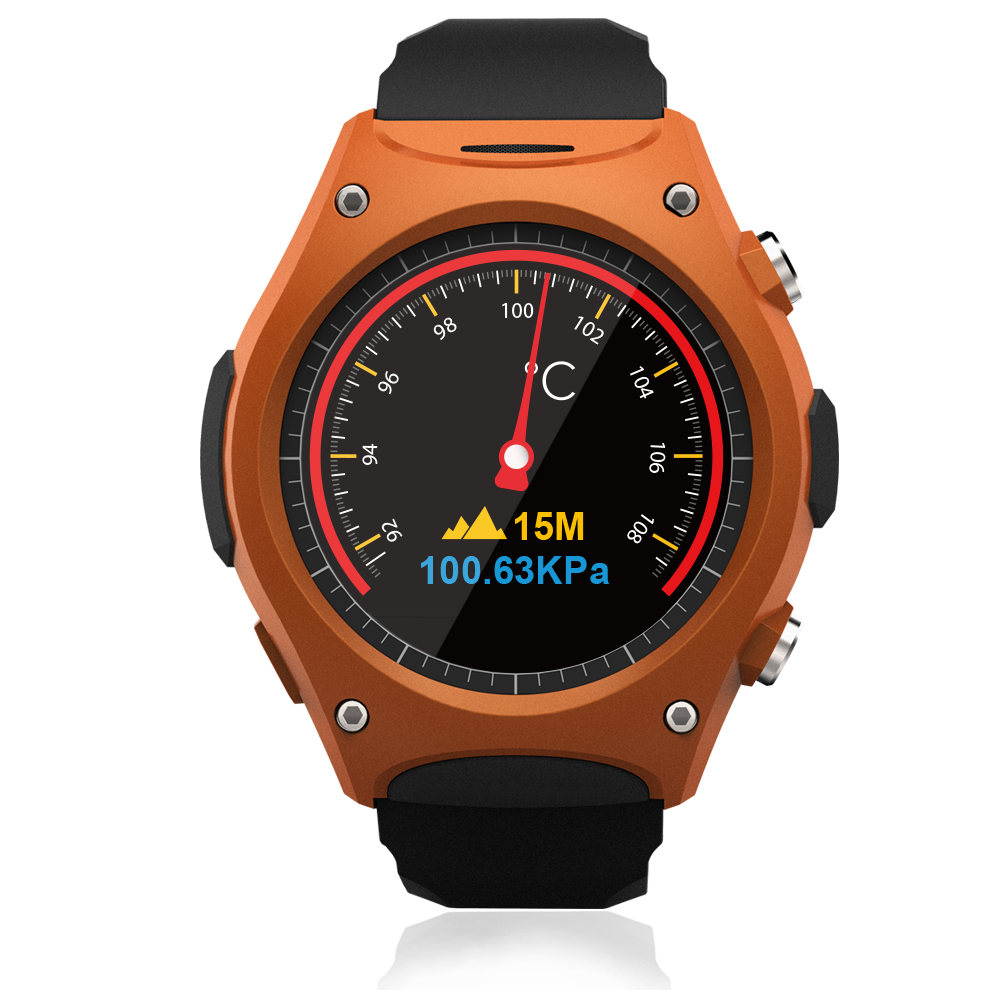 ФОТО 2016 Newest smart watch Q8 Waterproof IP67 Sport wrist watch  With Bluetooth G-sensor Heart Rate Compass