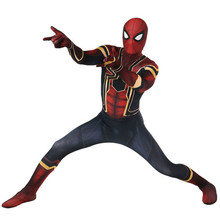 Avengers COS Spiderman Homecoming Cosplay Costume Anime Teljes test kültéri harisnya Halloween Special Wear