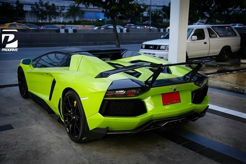 Car styling Hurcan LP610 mansory GT Carbon fiber spoiler for