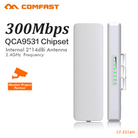 COMFAST 300Mbps Outdoor CPE 2 4G Wi Fi Access Point Wireless Bridge 1 3KM Range Extender