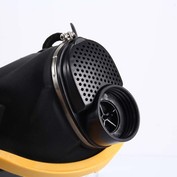 Elektrische Geleverd Air Fed Full Face Gas Masker Constante Flow Respirator Systeem Apparaat JLRL88
